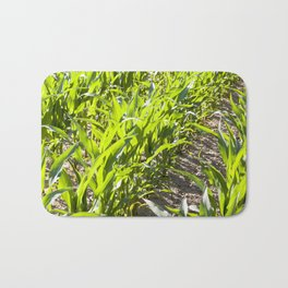 beautiful corn foliage Bath Mat