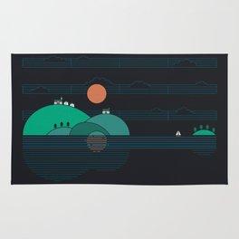 Island Folk Rug