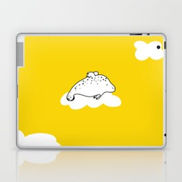 Flying Manatee by Amanda Jones Laptop & iPad Skin