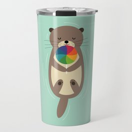 Sweet Otter Travel Mug