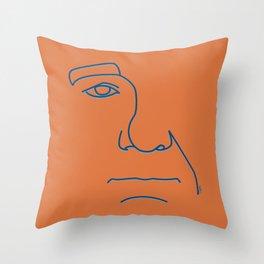 Bill Murray - Steve Zissou palette Throw Pillow