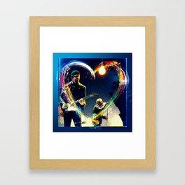 Edge & Bono Framed Art Print