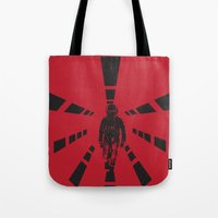 2001 Tote Bags featuring 2001 by Geminianum