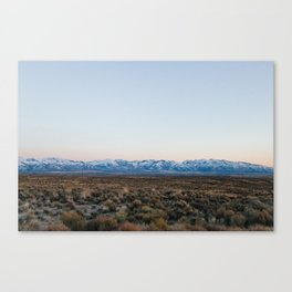 Deeth-Starr Valley Canvas Print