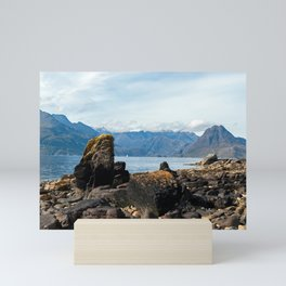 Scottish landscape of Isle of Skye Mini Art Print