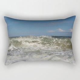 14 Days of Waves (2/14) Rectangular Pillow