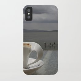 Coffee Before the Storm iPhone Case