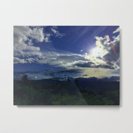 North Conway Sunset Metal Print