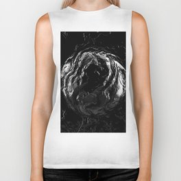 Abstract dark Biker Tank