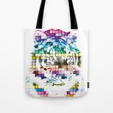 Pantone Tiger Color Chart Tote Bag