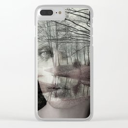 Forest river Clear iPhone Case