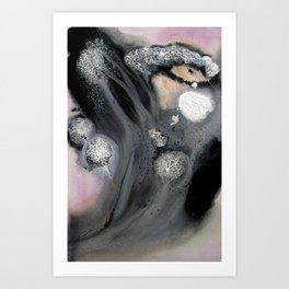 Blanched Art Print