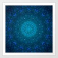 Blufish Art Print