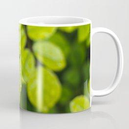 Plant Patterns - Green Scene Coffee Mug