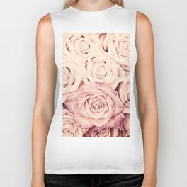 Some people grumble I Floral rose roses flowers pink Biker Tank