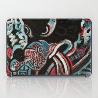 ashton irwin iPad Cases featuring Irwin Wolf by Matt Pecson