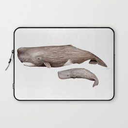 Sperm whale Laptop Sleeve