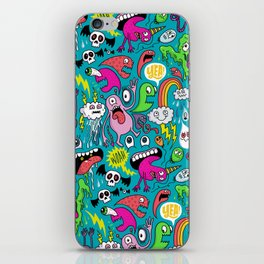 Monster Party iPhone Skin