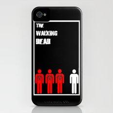 The Walking Dead Minimalist iPhone (4, 4s) Slim Case