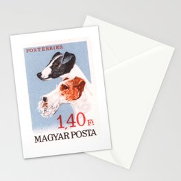 1967 HUNGARY Fox Terrier Postage Stamp Stationery Cards