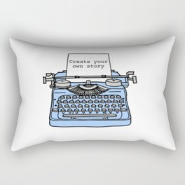 Create Your Own Story Rectangular Pillow