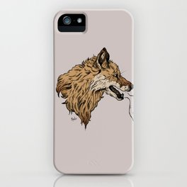 chaos reigns iPhone Case