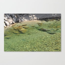 The Yuba River 6 Canvas Print