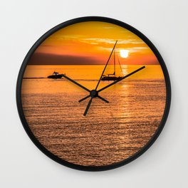 Finish of the day Wall Clock