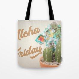 Aloha Friday Cactus Tote Bag