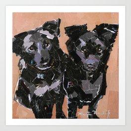 Carly & Carl Art Print