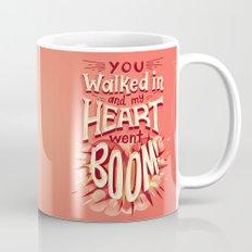 Heart went boom Mug