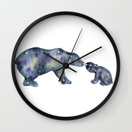 Star Bears Wall Clock