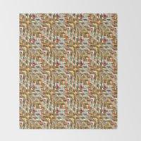 Geometric Quilt Throw Blanket