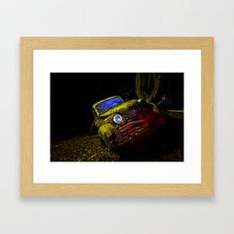 50's Opel Olympia Framed Art Print