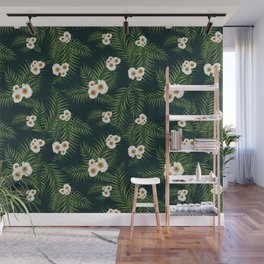 Gloomy Jungle Pattern #society6 #decor #buyart Wall Mural