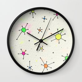 ladies and gentlemen we are floating in space Wall Clock
