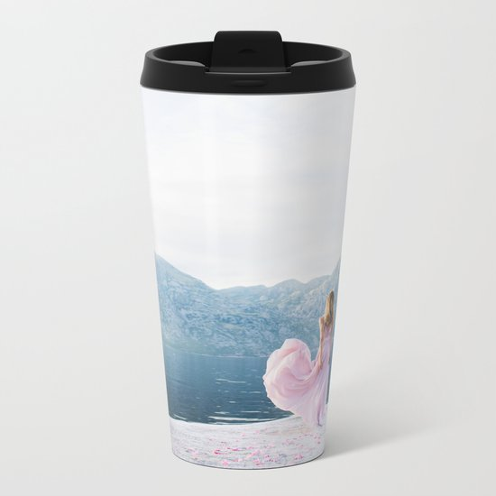 Pastel summer Metal Travel Mug