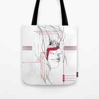 tribal Tote Bags featuring TRIBAL by ARCHIGRAF