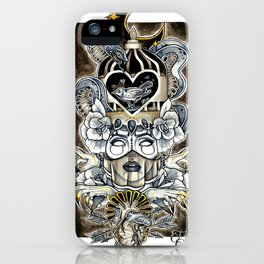 Queen Of Wishful Thinking iPhone Case