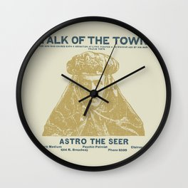 Astro the Seer Wall Clock