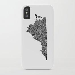 Typographic Virginia iPhone Case