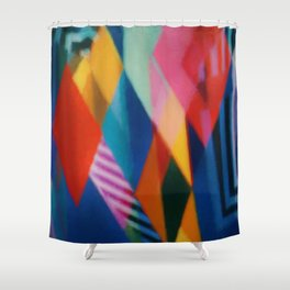 Abstract Composition 399 Shower Curtain