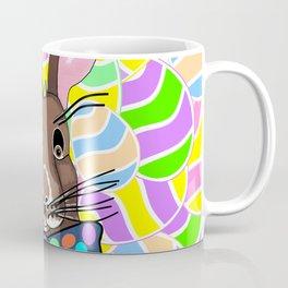 Easter Bunny Easter Eggs - Happy Easter Coffee Mug