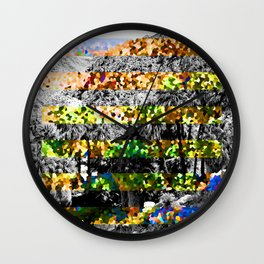 HAZY DAYZ Wall Clock