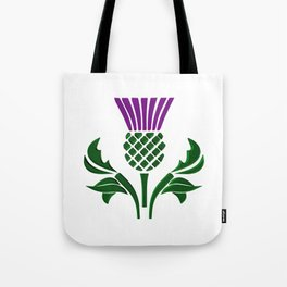 Scottish emblem thistle Tote Bag