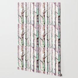 Birch Tree Forest Wallpaper