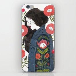 Hippie Girl iPhone Skin