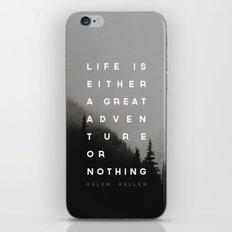 Adventure or Nothing iPhone Skin