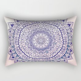 PASTEL PINK MANDALIKA DREAM Rectangular Pillow