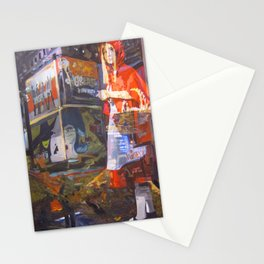 In bocca al Lupo Stationery Cards